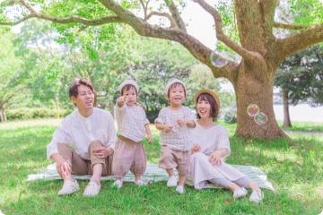 家族撮影の衣装コーディネート無料相談